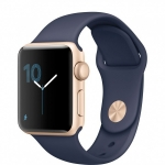 Часы Apple Watch Series 2 38mm Case with Midnight Blue Sport Band