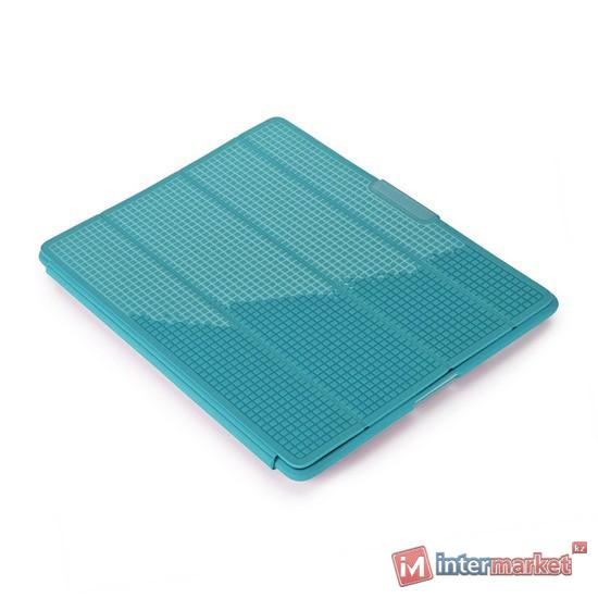 Чехол для планшета, Speck, iPad4/iPad3/iPad2, PixelSkin HD Wrap SPK-A1196, Бирюзовый
