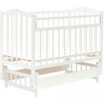 Кровать детская Bambini Классик M 01.10.11 Белый
