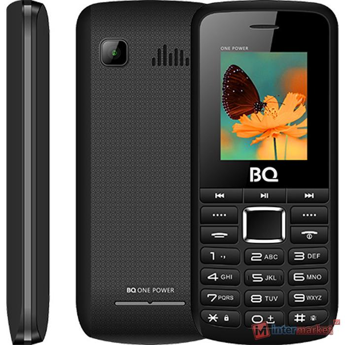 Мобильный телефон BQ 1846 One Power чёрный+серый /