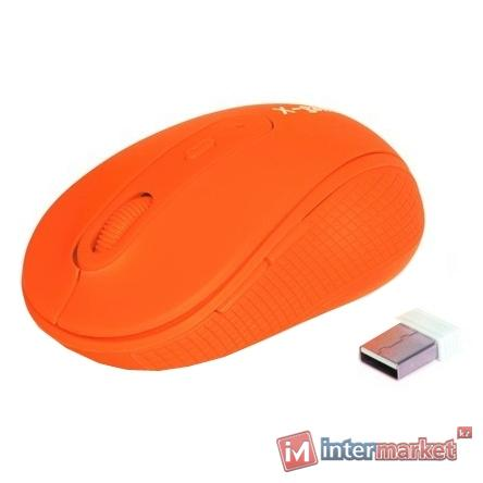Мышь X-Game XM-810OGO orange USB