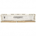 Оперативная память 16GB DDR4 2666 MHz Crucial Ballistix Sport LT White PC4-21300 16-18-18 Unbuffered NON-ECC 1.2V BLS16G4D26BFSC