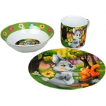 Набор детской посуды Rosenberg 8768 (3 пр.)