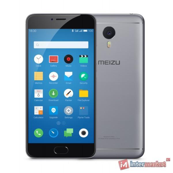Смартфон Meizu M3 Note, 16Gb, Gray-Black