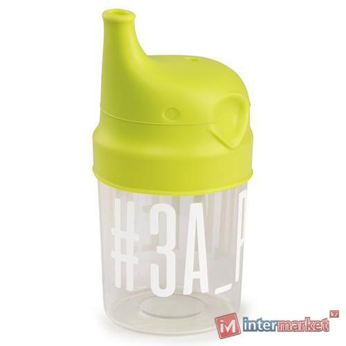 Стакан с насадкой-поильником Happy Baby 15049 Lime