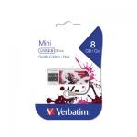 USB Флеш 8GB 2.0 Verbatim 098165 красный